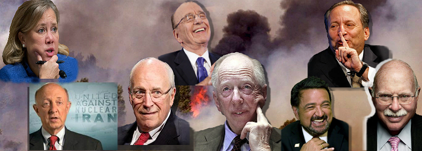 Genie Energy Advisory Board: Former chair of the US Senate Homeland Security Appropriations Subcommittee Mary Landrieu, Former CIA Director James Woolsey, Former V-P Dick Cheney, Fox News owner Rupert Murdoch, Lord [of Darkness] Jacob Rothschild, Former New Mexico Gov. and former Energy Secr. Bill Richardson, Former engineer of the Glass-Steagall Act Larry Summers, Hedge fund speculator Michael Steinhart