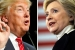 In First, National Polling Average Shows Trump Over Clinton