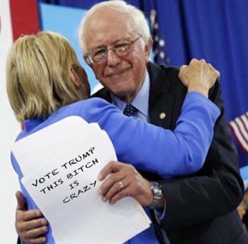 Bernie Lost His Street Cred