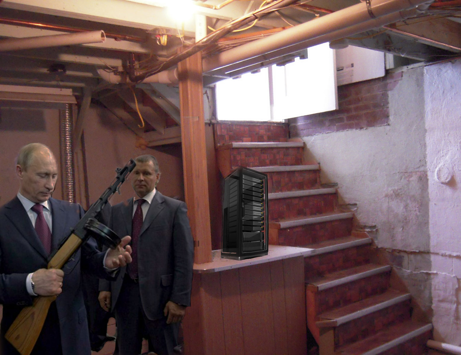 putin-basement-server