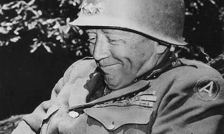 Even has that Trump grin! Also notable is the belief such generals tend to make repeat performances in major wars, because they just love a good fight. If this wild guess is true, Patton just came back for World War III.