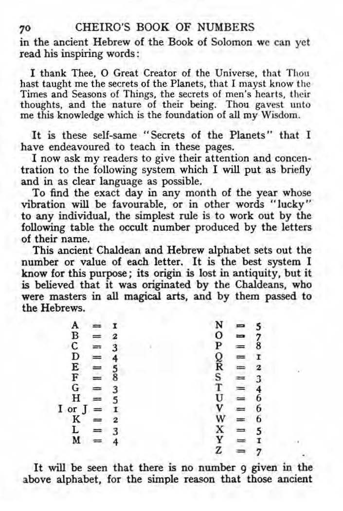 Arts Letters Numbers