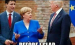 """Merkel Mouse"" Bites ""Tiger Trump""—Then Quickly Realizes It Was Worst Mistake Of Her Life"