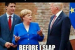 """""""Merkel Mouse"""" Bites """"Tiger Trump""""—Then Quickly Realizes It Was Worst Mistake Of Her Life"""