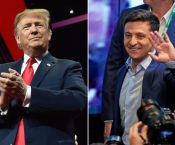 Trump Train Smashes ThroughUkraineIn Pursuit Of Total Hillary Clinton Destruction