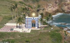 FBI Requests Export Permit For Russian Underground Radar System To Probe Bizarre Temple-Like Structure On Jeffrey Epstein's Private Island