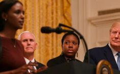Trump Averts US-Turkey War After Young Black Woman Stuns White House With Powerful Prayer
