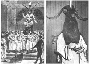 Scottish Rite 18th degree initiation ritual features Baphomet