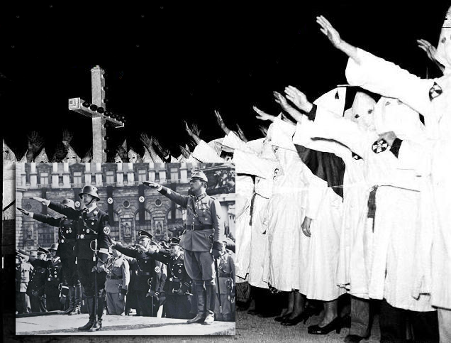 The Fascist Salute Actually Came from the Klan