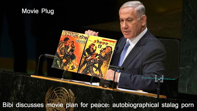 Netanyahu pitches autobiographical stalag porn