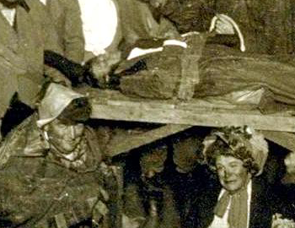 Human sacrifice at Bohemian Grove, 1909, African-American youth lynched