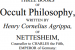 Of Occult Philosophy