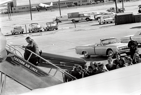 Air Force One, Nov. 22, 1963