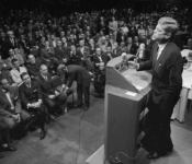 """President Kennedy Warns of """"monolithic and ruthless conspiracy"""""""