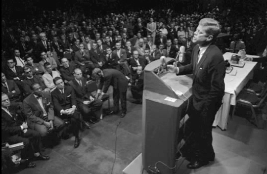 "President Kennedy Warns of ""monolithic and ruthless conspiracy"", Cabal Press Infiltration"