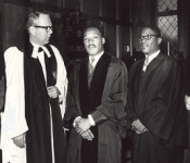 Martin Luther King, Jr. at Grace Cathedral