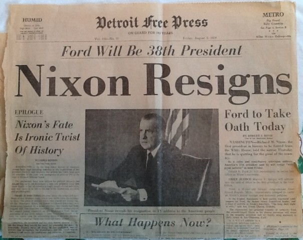 watergate scandal term paper