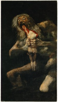 the cronus complex and goya s paintings Goya's 'black paintings  just as his complex and open-ended scenes lend themselves to conflicting moods—at once nostalgic,  voizey art blog at wordpresscom.
