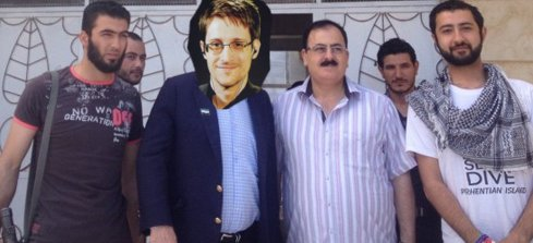 snowden -arms-isis