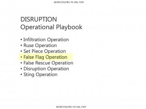 "Snowden NSA Files ""Art of Deception"": False flags are actually in NSA Operational Playbook."
