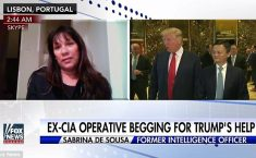 Trump Brings In From Cold Female CIA Spy Hillary Clinton DisavowedAndLeft To Rot In Prison
